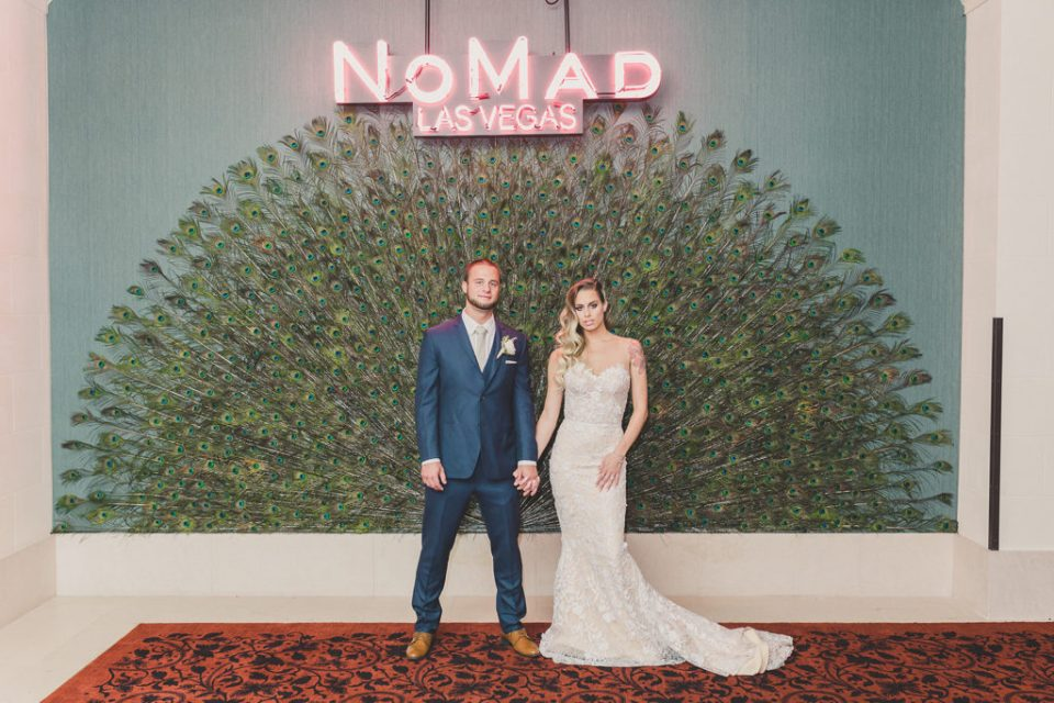 Taylor Made Photography captures wedding portraits in NoMad hotel