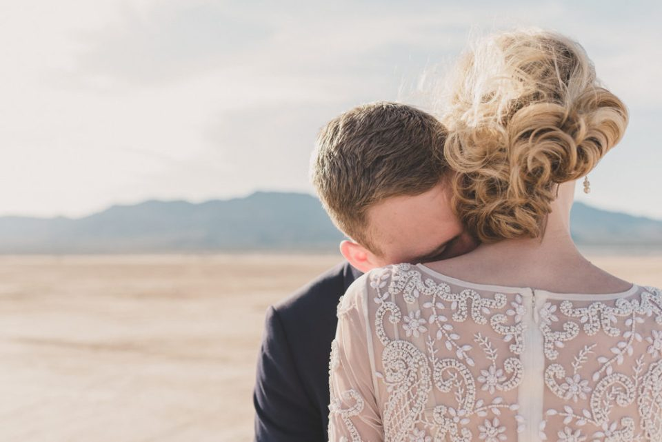 El Dorado Dry Lake Bed elopement photographed by Taylor Made Photography