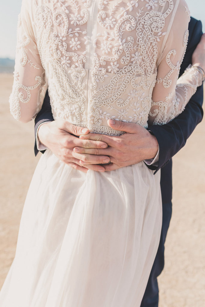 bride's dress details by Taylor Made Photography