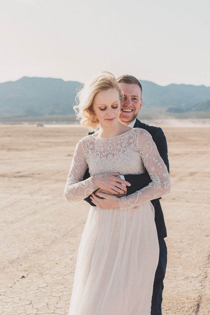 Boulder City NV elopement photographed by Taylor Made Photography
