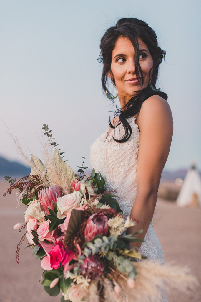 adventurous elopement in Las Vegas with Taylor Made Photography