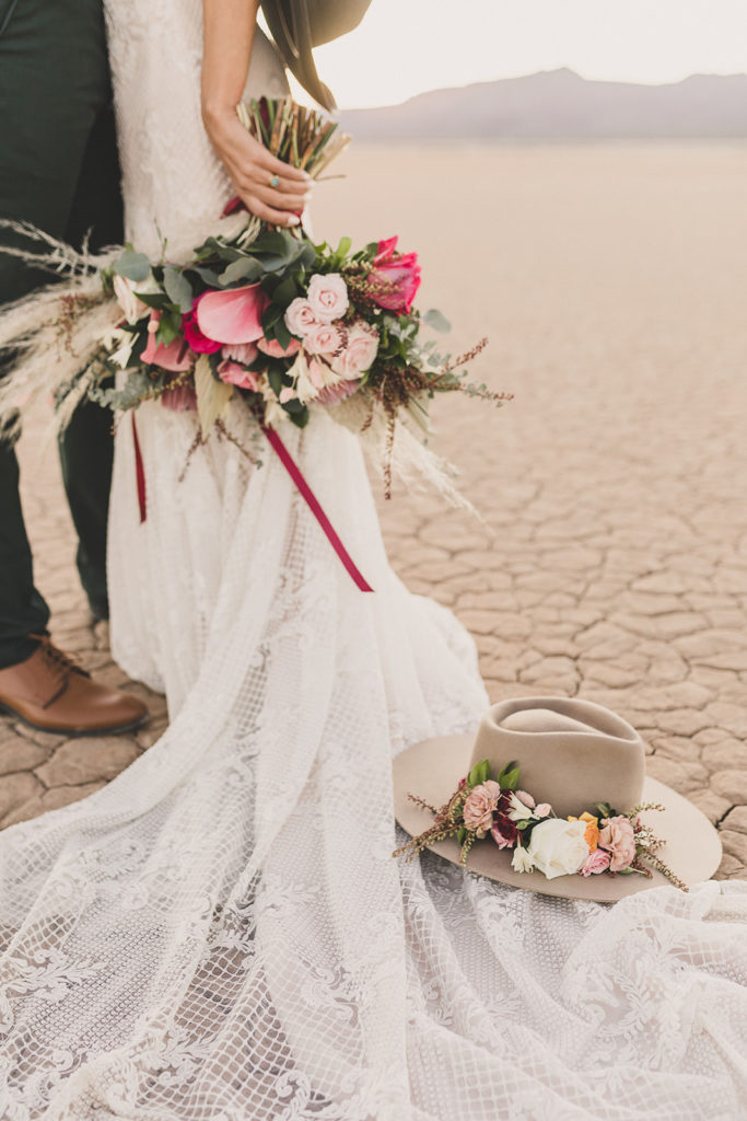Taylor Made Photography photographs bride's details during elopement