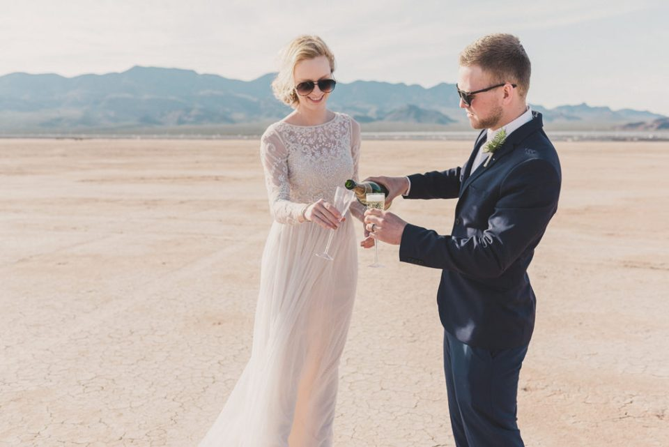 Taylor Made Photography captures bride and groom celebrating elopement
