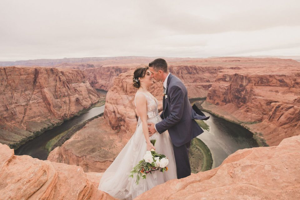 elopement portraits in Las Vegas with Taylor Made Photography