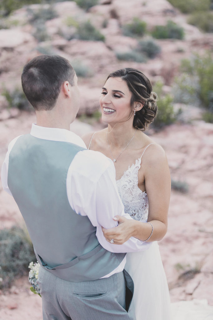 elopement in nature photographed by Taylor Made Photography