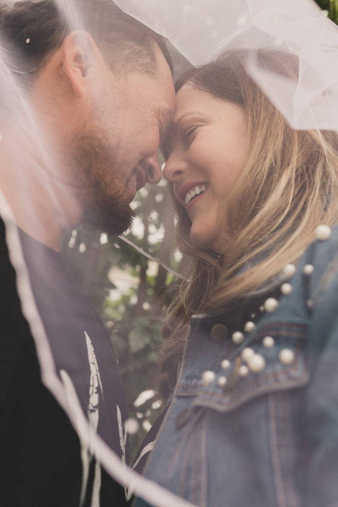 wedding portraits under veil photographed by Taylor Made Photography