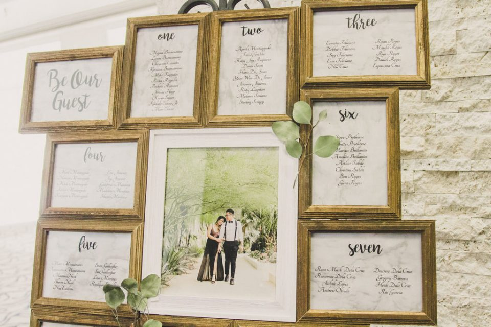 Taylor Made Photography captures wedding reception details