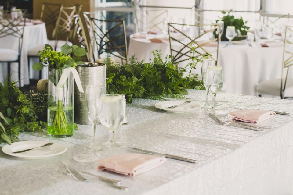 wedding reception details at Canyon Gate wedding reception photographed by Taylor Made Photography