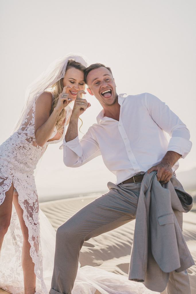 couple celebrates elopement in Las Vegas with Taylor Made Photography