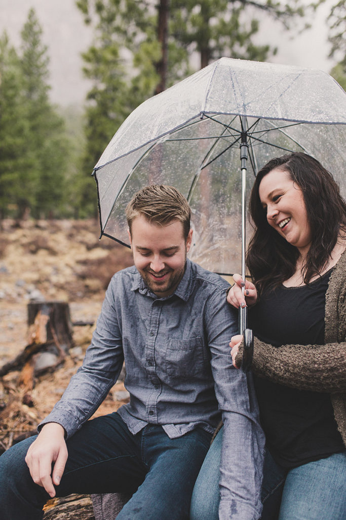 Taylor Made Photography captures Mt. Charleston engagement photos