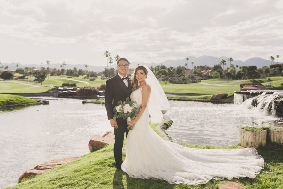 Canyon Gate Country Club wedding portraits by Taylor Made Photography