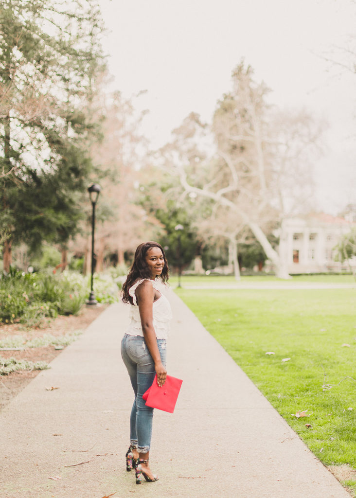 Claremont CA senior portraits by Taylor Made Photography