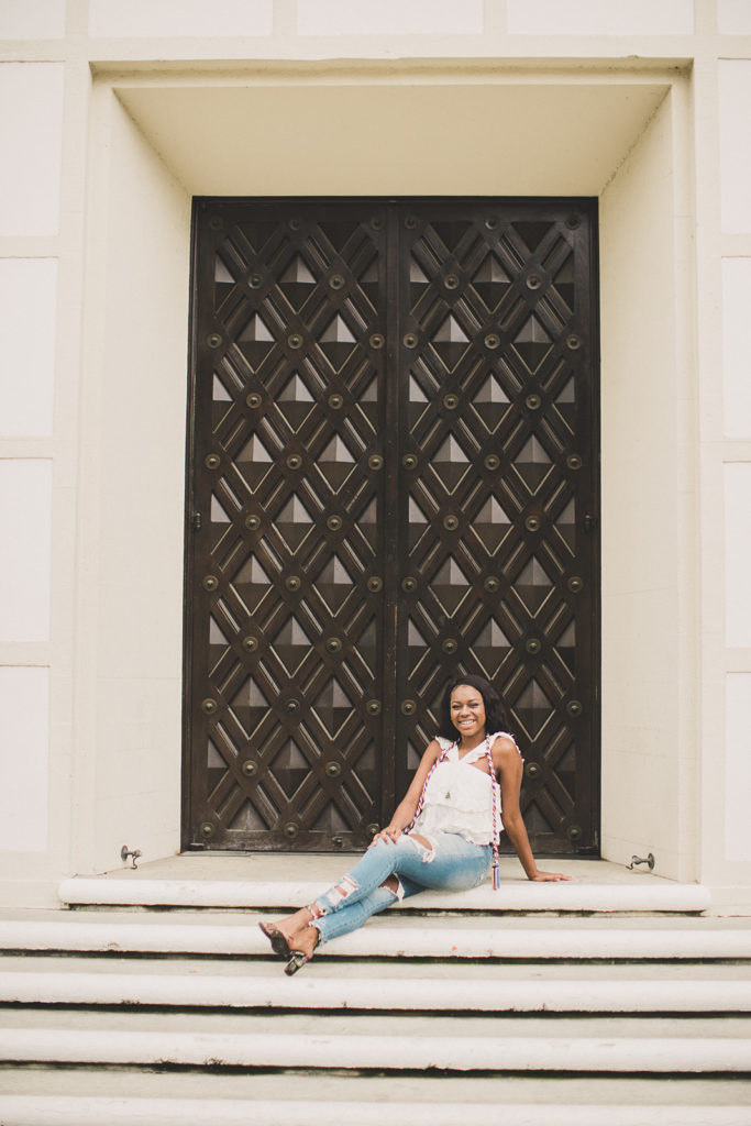 Pomona College senior portraits with Taylor Made Photography