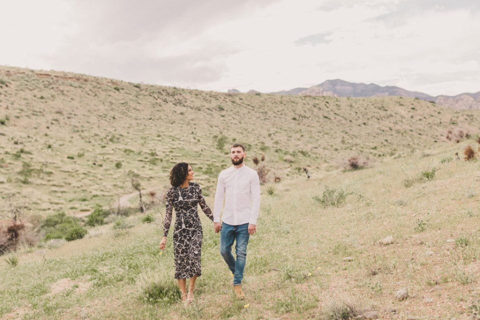 Engagement session in Nevada with Taylor Made Photography