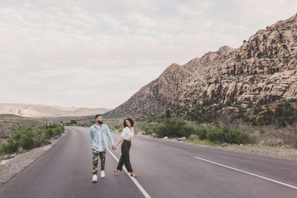 Taylor Made Photography captures engagement portraits in Las Vegas NV
