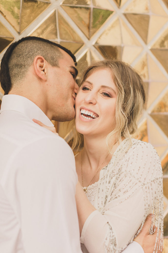 engagement portraits in Las Vegas on Fremont Street by Taylor Made Photography