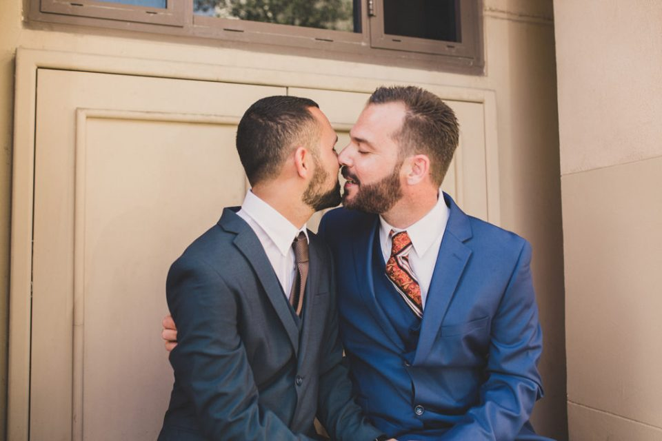 LGBTQ+ friendly elopement photographer Taylor Made Photography