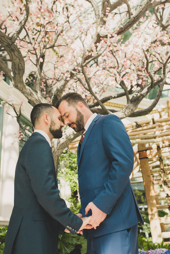 Taylor Made Photography captures gay elopement in Las Vegas