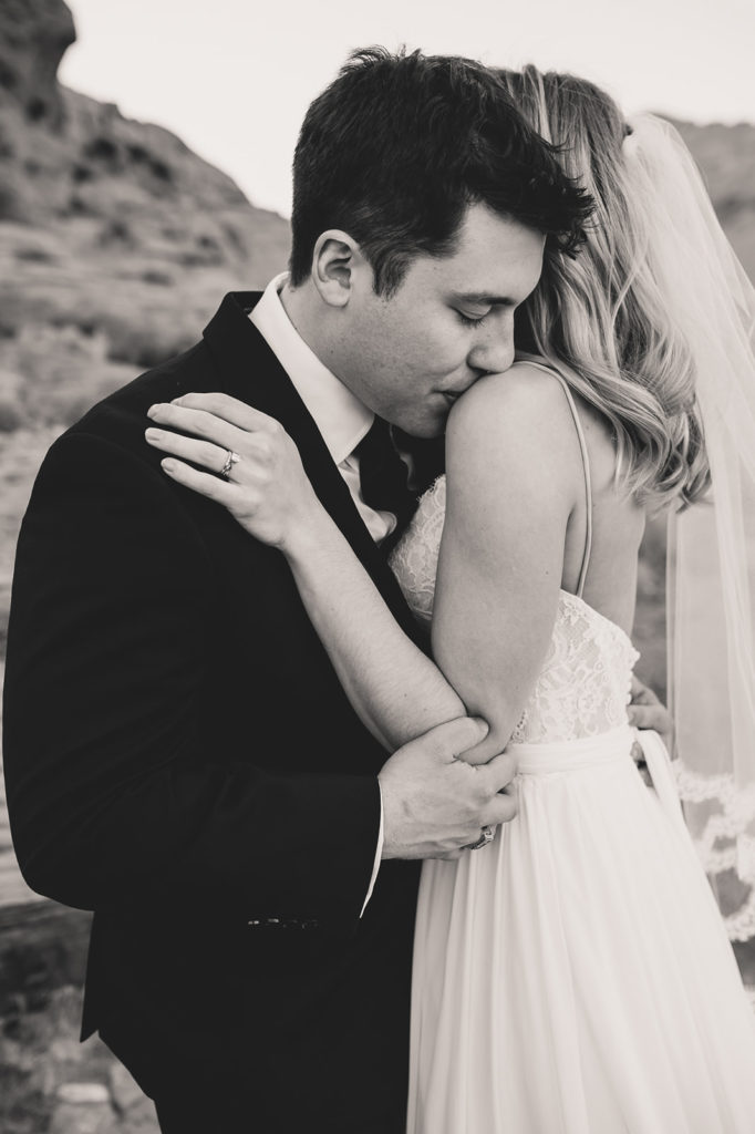 Calico Basin wedding portraits in Las Vegas with Taylor Made Photography