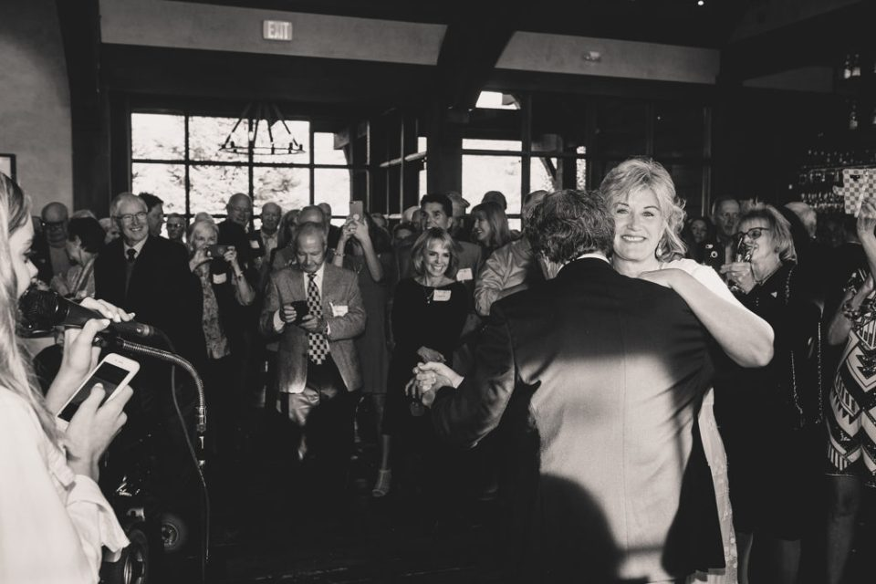 first dance at Freestone Lodge wedding photographed by Taylor Made Photography