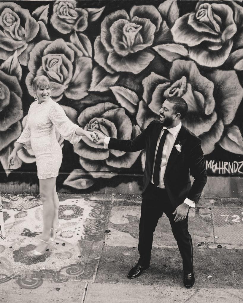 Las Vegas elopement portraits downtown