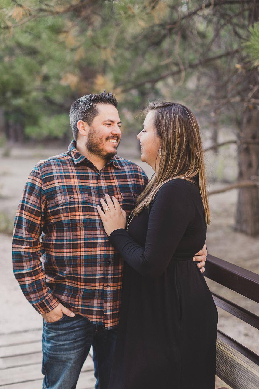 parents pose together during Las Vegas Family Portraits