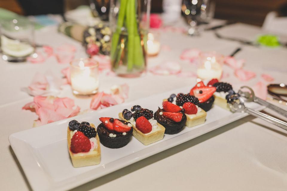 finger foods for The Westin Lake Las Vegas wedding reception
