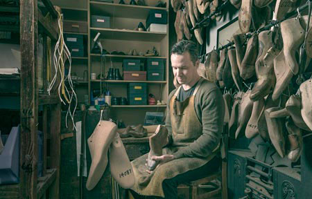 Robert, shoemaking