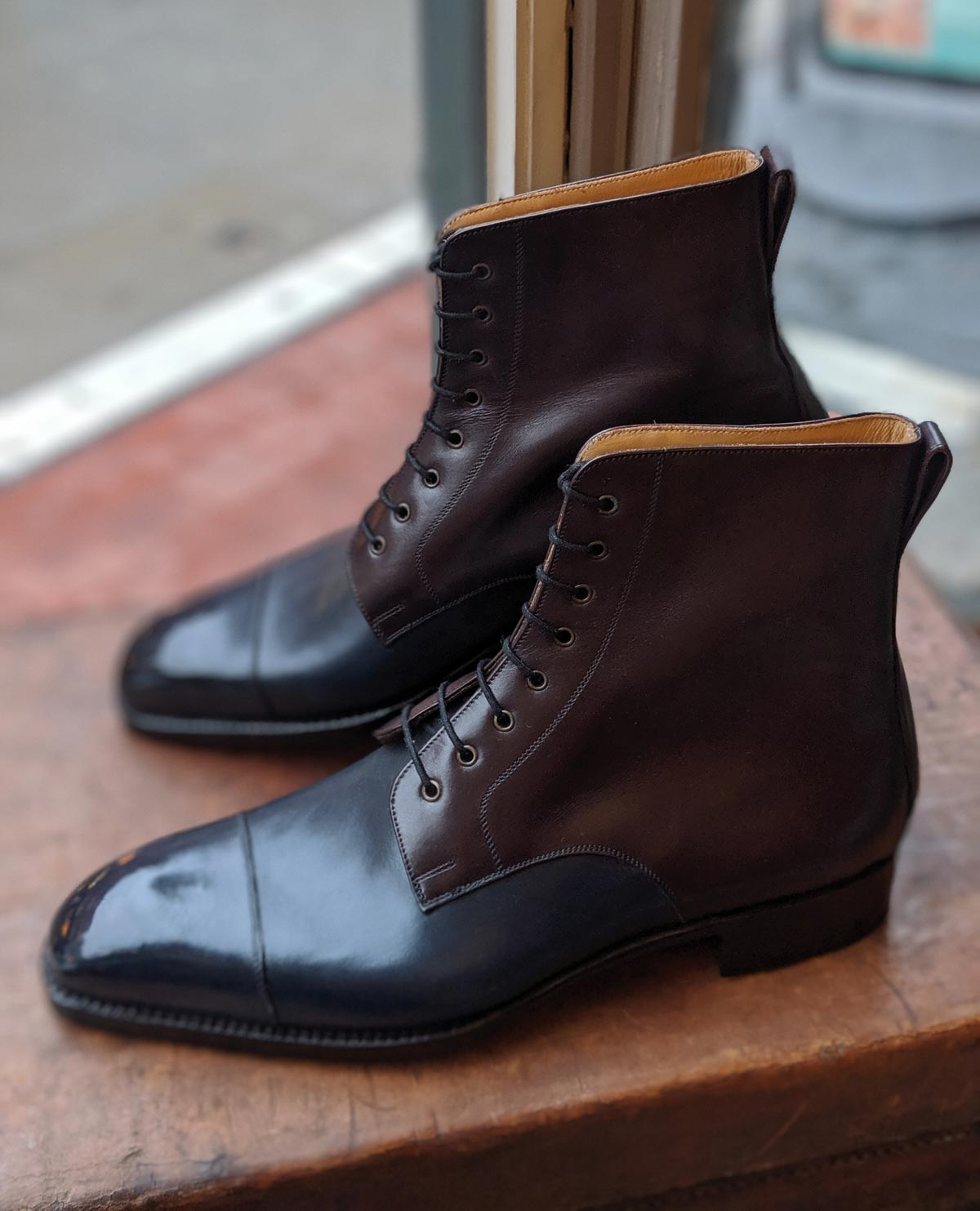 Vass Theresianer boots blue
