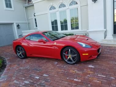 Taylor Mobile Detail Jacksonville FL Customer Cars Red Ferrari 1
