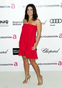 Gina Carano at Elton John AIDS Foundation Academy Awards Viewing Party