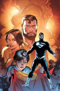 SUPERMAN: LOIS & CLARK #1  Written by Dan Jurgens Art by Lee Weeks On-sale October 14 Following the epic events of CONVERGENCE, here are the adventures of the last son and daughter of Krypton and Earth as they try to survive in a world not their own. But can they keep this world from suffering the same fate as their own? Can this Superman stop the villains he once fought before they are created on this world? What is Intergang, and why does Lois's discovery of it place everyone she loves in jeopardy? And what will happen when their nine-year-old son learns the true identity of his parents?