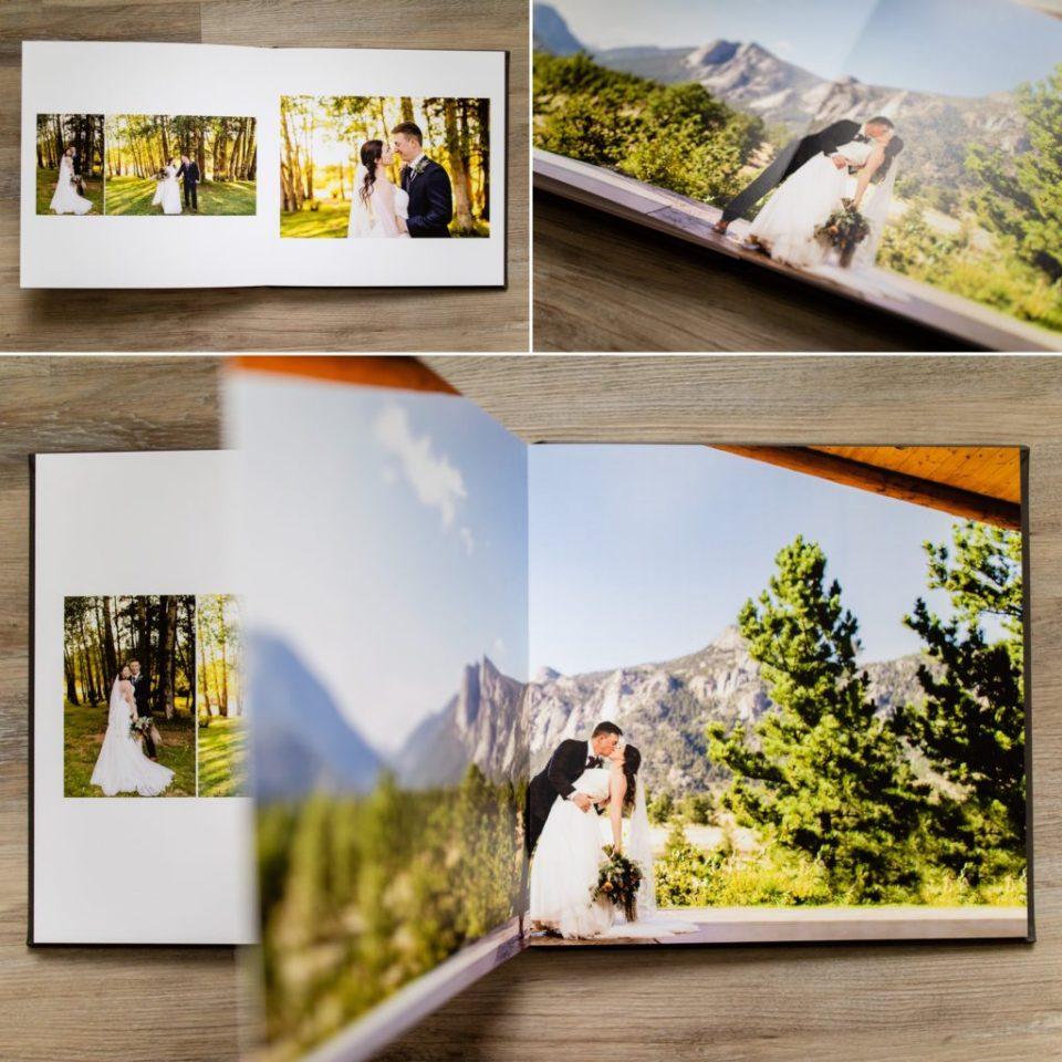 Colorado Wedding Photographer, Colorado Wedding Albums, Colorado Printed Wedding Albums