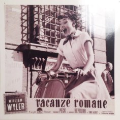 Roman Holiday 1953 - personal postcard