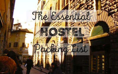 The Essential Hostel Packing List