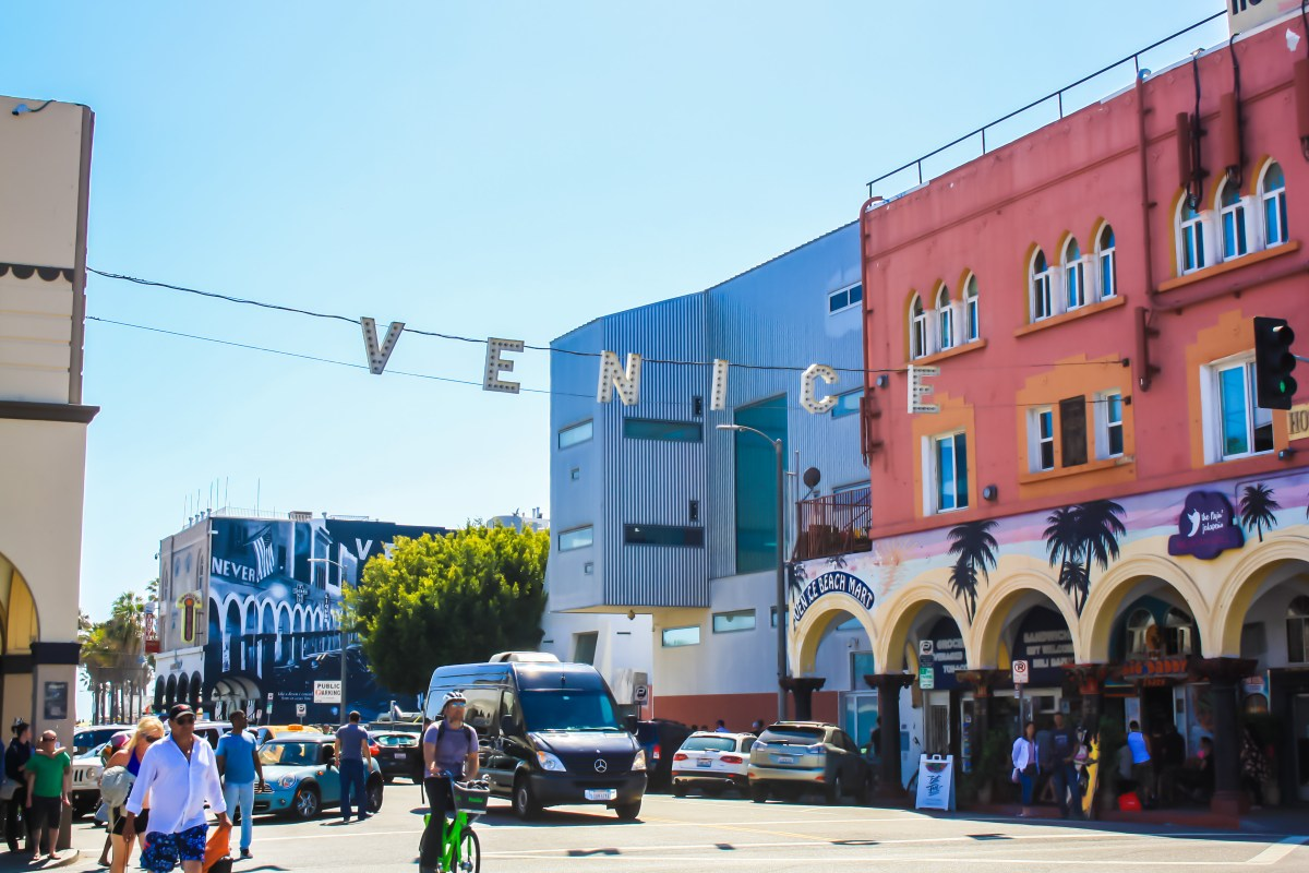 From Santa Monica to Venice, California (In Photos)