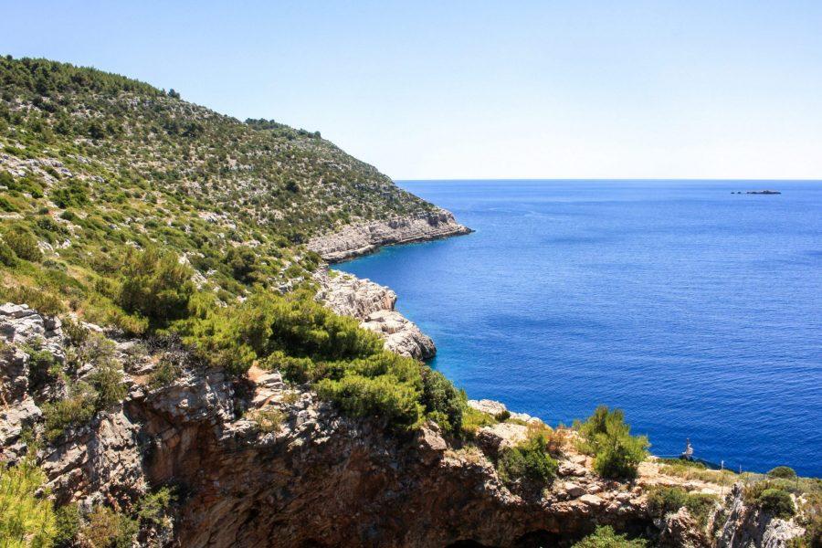 Hiking to Odysseus Cave on Mljet Island, Croatia