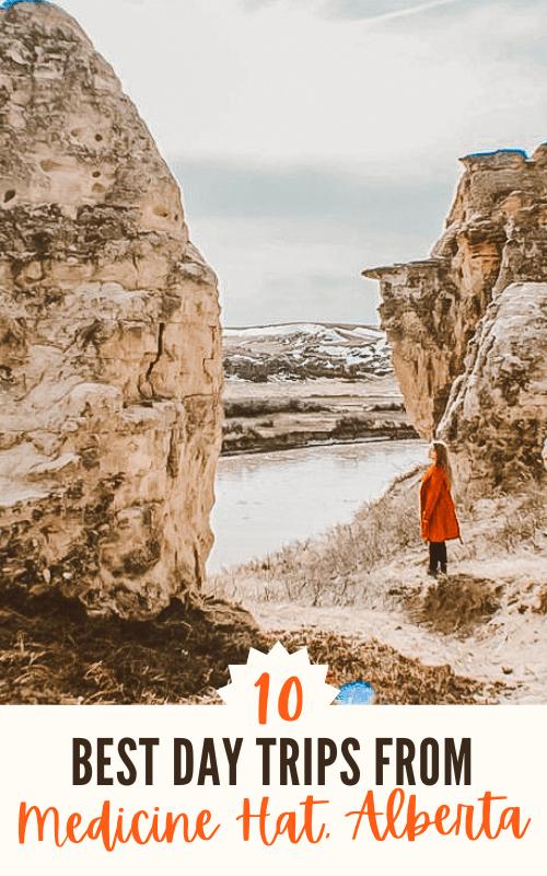 10 Best Day Trips from Medicine Hat Alberta Pinterest Pin