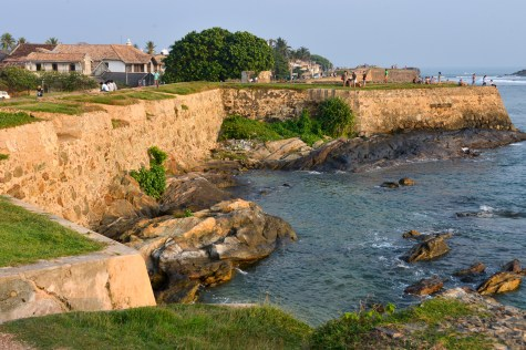 galle fort walls cove