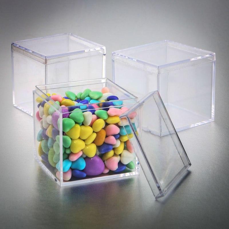 Square Clear Acrylic Box
