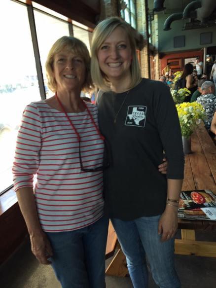 meg and mom