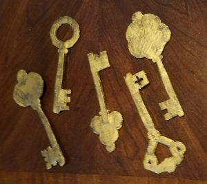 finished skeleton keys