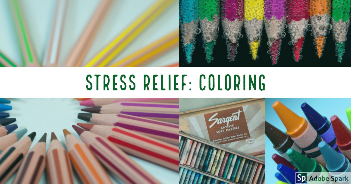 Stress Relief: Coloring