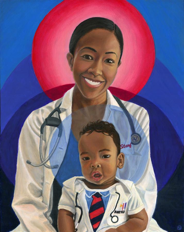 A & L – Black Role Model Painting
