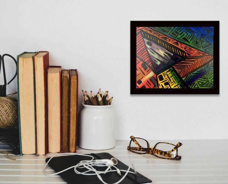 Color Rhythms 1 – Painting