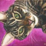 Felix D Cat Painting