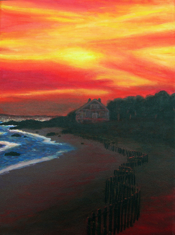 Fire Sky – Painting