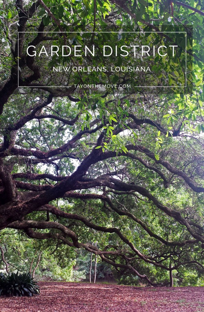 Garden District in New Orleans, Louisiana
