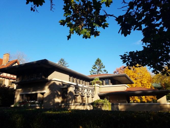 Frank Lloyd Wright's Home - Grand Rapids, MI