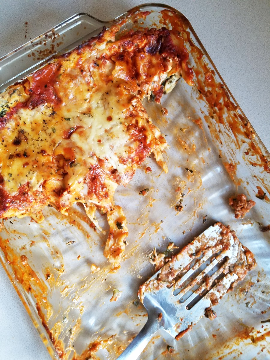 Delicious Loaded Lasagna